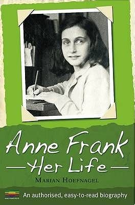 anne frank picture book biography anne frank her life marian hoefnagel by marian hoefnagel