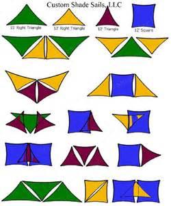 Backyard Sail Shades Custom Shade Sails Sample Layouts And Design Ideas