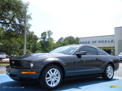 2008 alloy metallic ford mustang v6 premium coupe