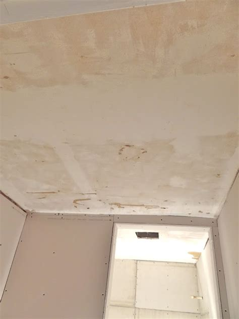 Skim Coat Popcorn Ceiling one project at a time diy skim coating a ceiling