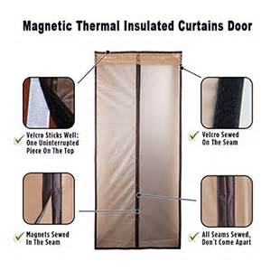 thermal door curtain magnetic thermal insulated door curtain enjoy your cool