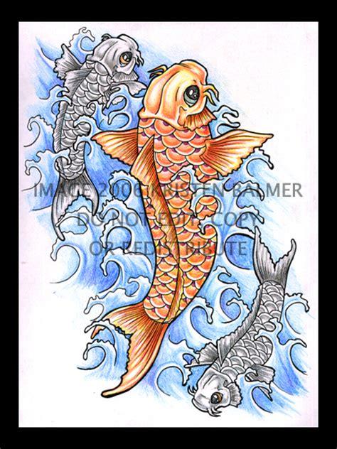 simple koi tattoo simple koi by girlofink on deviantart