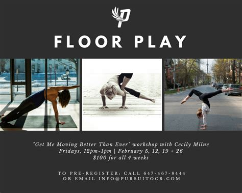 floor play get me moving better than pursuit ocr