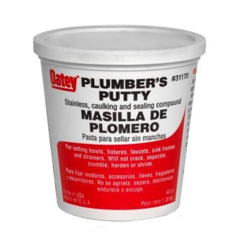 Oatey 3 lb. Plumber's Putty 31170   The Home Depot