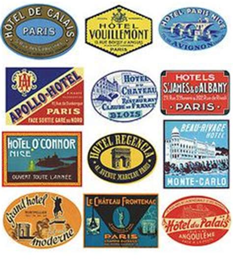 Kofferaufkleber Paris by 1000 Images About Travel Stickers On Pinterest Luggage