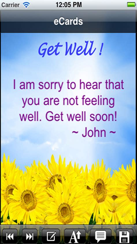 Get Voice Messages From by Get Well Cards With Photo Editor Send Get Well Soon