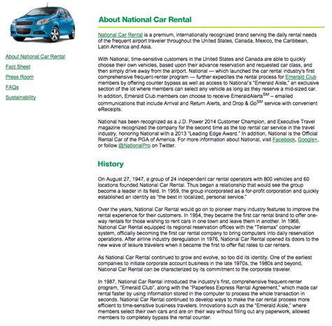 Introduction Letter Of Car Rental Company Top 222 Reviews And Complaints About National Car Rental