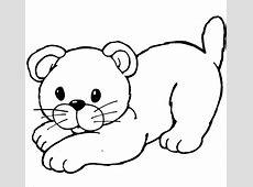 Kumpulan Gambar Gambar Kucing Untuk Diwarnai Kekinian