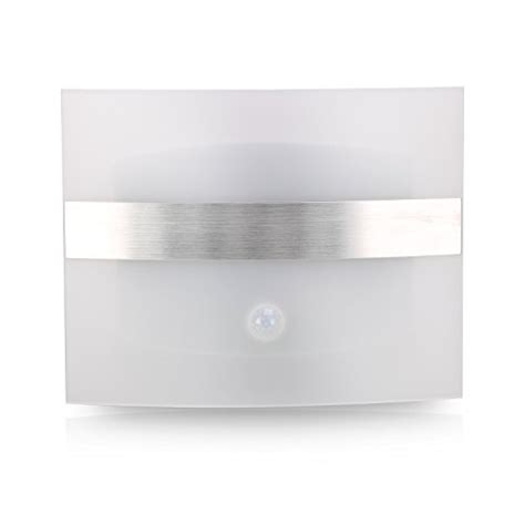 Led Automatic Voice Activated Sensor Light Aa Y 2011 z edge stick anywhere bright motion sensor activated led wall sconce light auto on
