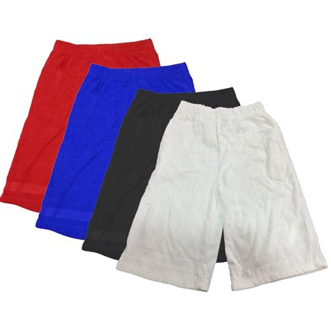 aqua 100 cotton terry towel shorts and cover up for