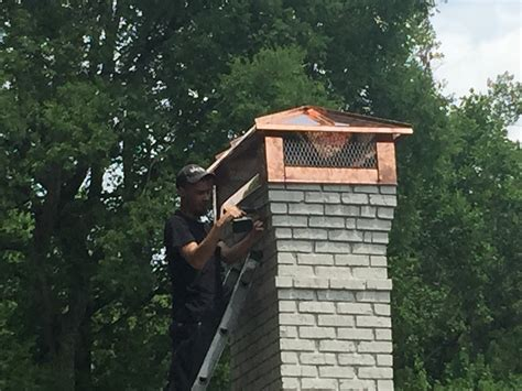 gas fireplace chimney cap fireplaces