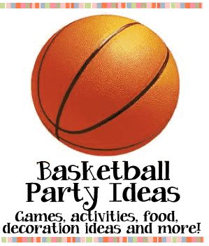 themes for basketball games basketball party ideas for kids