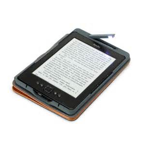 does kindle a light ultra thin pu leather cover with built in led light