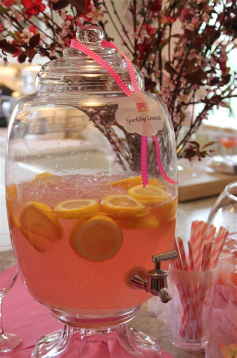 Baby Shower Drink by Get Tickled Pink With This Blush Colored Baby Shower Evite