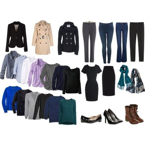 Fall Winter Capsule Wardrobe by Fall Winter Capsule Wardrobe Capsule Travel Wardrobe