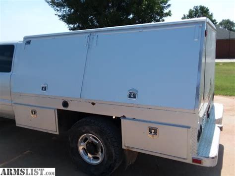 utility bed trucks for sale armslist for sale trade enclosed utility bed for srw longbed trucks