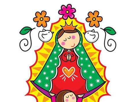 imagenes virgen maria en caricatura imagenes de la guadalupana animada imagui