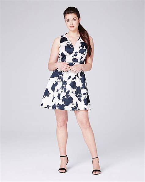 Ll Mono Line Dress coast kristen a line print dress oxendales