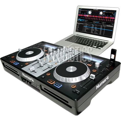usb decks numark mixdeck express dj controller mixer cd mp3 usb