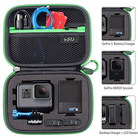 Gopro 5 Malaysia free shipping small for gopro 6 5 4 3 3 hsu carrying for cameras and