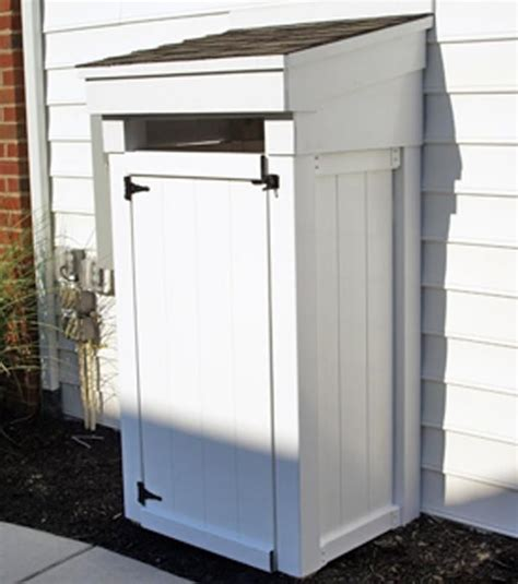 Trash Can Shed Plans by Trash Can Shed Plans Woodworking Projects Plans