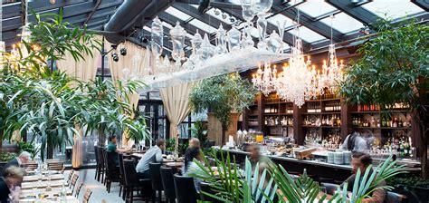 Elegant Chandeliers Dining Room nyc hotel restaurants nomo soho nightlife in nyc