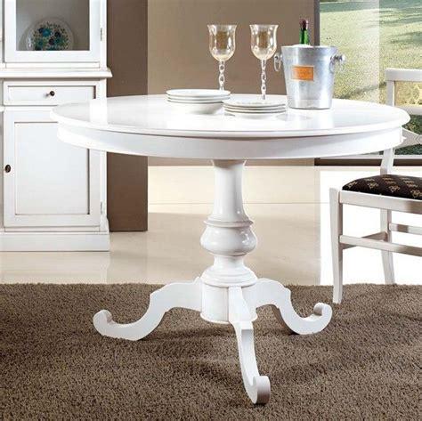 tavolo bianco rotondo mobili da arredo tavolo rotondo colore bianco