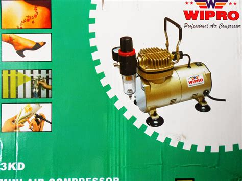 Kompresor Wipro home shopping kompresor mini 3kd wipro buat cat spray dll