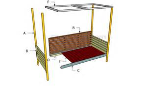 Daybed Construction Plans Outdoor Daybed Plans Howtospecialist How To Build