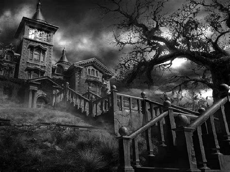 The Best Haunted Houses by Some Creepy Haunted House Pictures
