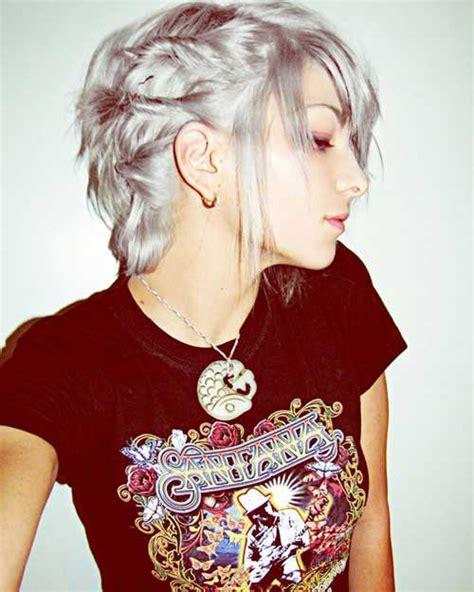 trendy grey hair 14 short hairstyles for gray hair short hairstyles 2016