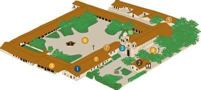 mission san carlos borromeo de carmelo floor plan san carlos layout and 3d on pinterest
