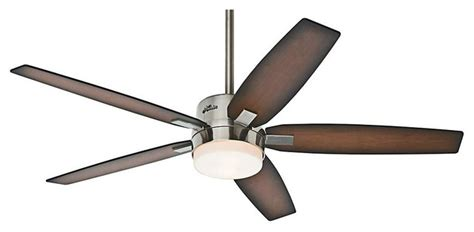 contemporary ceiling fans brushed nickel windemere ceiling fan brushed nickel with light