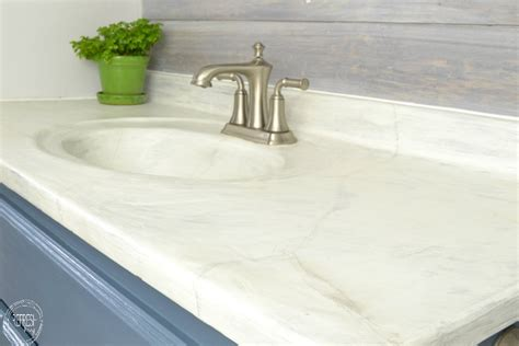 Replacing A Bathroom Countertop by 13 Ways To Transform Your Countertops Without Replacing