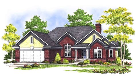 Traditional Brick House Plans by Traditional Brick Home Plan 89383ah Architectural