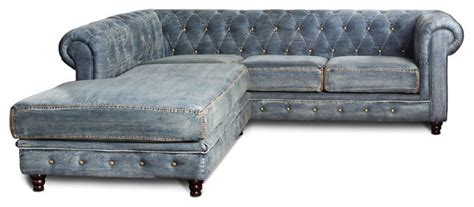 Denim Chesterfield Sofa by Indigo Blue And Denim For Your Home