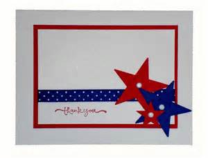 crafts by beth patriotic thank you