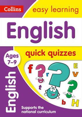 french ages 7 9 collins english quick quizzes ages 7 9 by collins easy learning waterstones