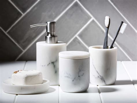 bathroom suplies trend report marble accents domayne style insider