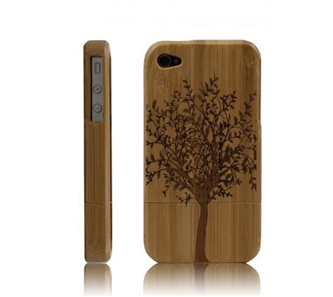 Handmade Iphone 4 Cases - best handmade carved bamboo iphone 4 4s cases a b by
