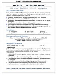 Coach Operator Sle Resume by Drivers Resume Sles