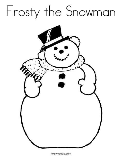 frosty the snowman coloring page pdf snowmen coloring page printable coloring book sheet