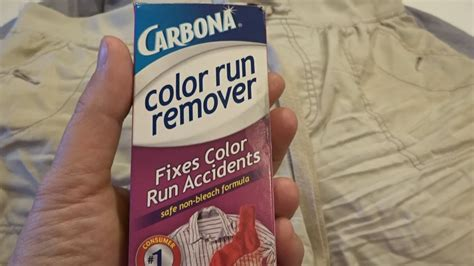 carbona color run remover product review carbona color run remover