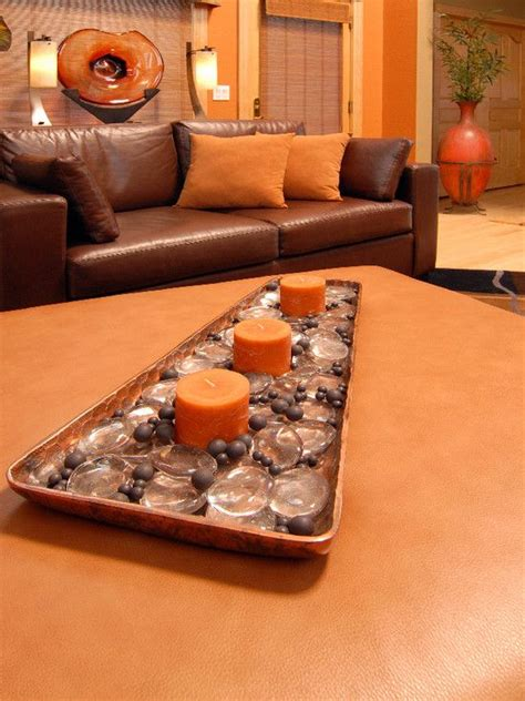 orange home and decor 1000 images about burnt orange living room on pinterest