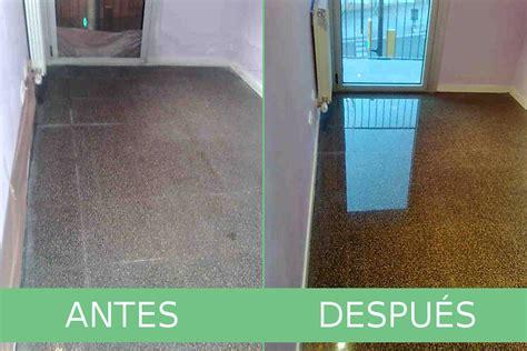 pulir suelo terrazo pulido de terrazo expobrill pulido y abrillantado de