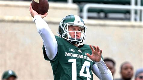 Michigan State Records Brian Lewerke Breaks Michigan State Passing Records In Loss