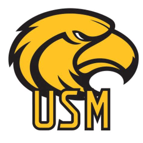 logo southern mississippi university golden eagles eagle