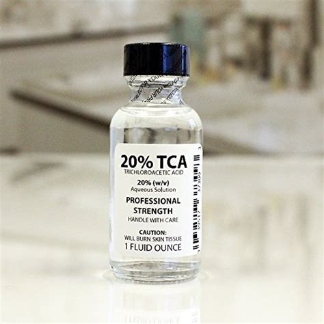 Tca 20 Cairan Peeling 100ml trichloroacetic acid solution tca 20 chemical skin peel 1 ounce was sold for r629 00