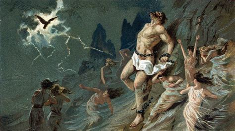 themes in the story of prometheus newsela myths and legends the story of prometheus and