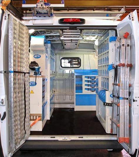 allestimento interno furgoni furgone officina da syncro system